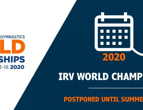 Postponement of 2020 World Championships