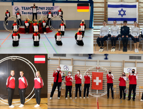 Team Germany wins the Junior IRV Team Trophy in a tight contest with Team Israel
